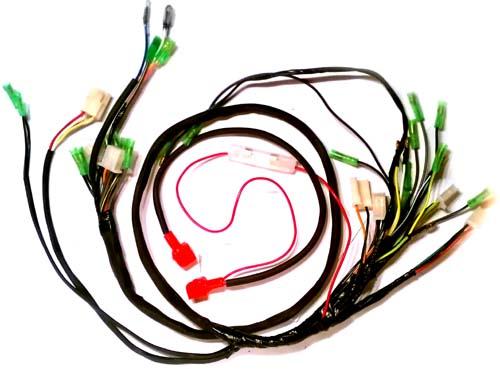 Wire harness, 49/110/125cc HK-I, II - Kikker 5150 HardKnock Parts by  Kikker5150Hardknock Garage
