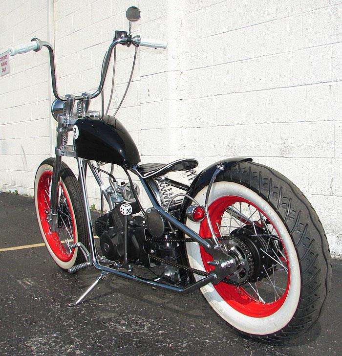 Hardknock Motorcycle 125cc Hk I Complete Kit